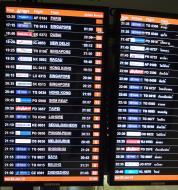 Asisbiz Flight Arival and Departure boards Suvarnabhumi Airport Thailand 2009 04