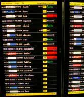 Asisbiz Flight Arival and Departure boards Suvarnabhumi Airport Thailand 2009 09