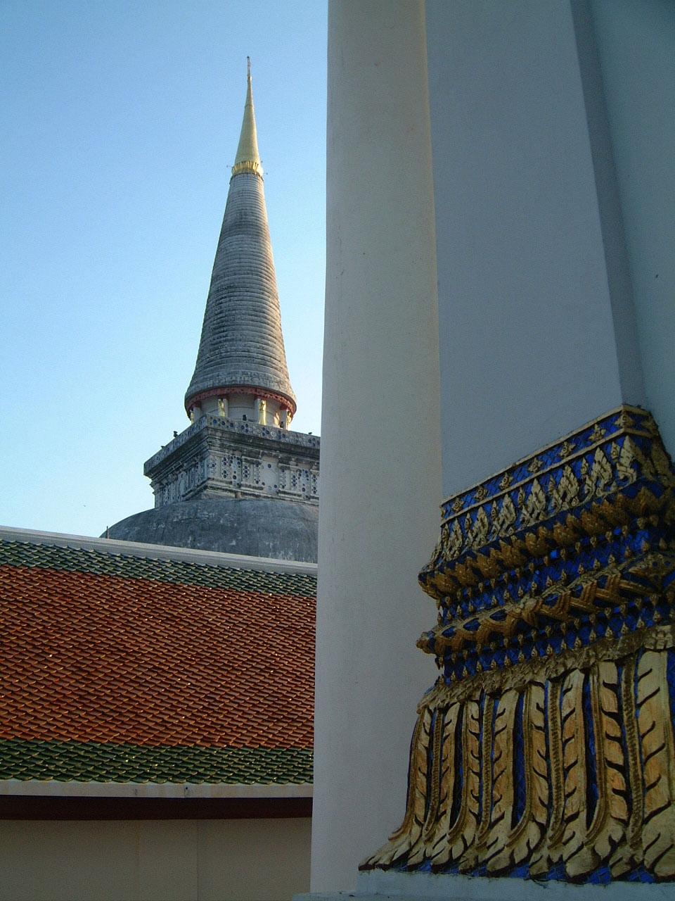 Wat Phra Baromathat Nakhon Srithammarat Apr 2001 10