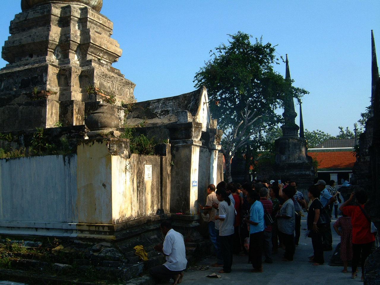 Wat Phra Baromathat Nakhon Srithammarat Apr 2001 34