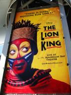 Asisbiz 1 Las Vegas Blvd the strip poster The lion King 011