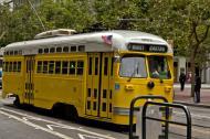 Asisbiz San Francisco Municipal Railway fleet PCC street car fleet cable car no 1063 04