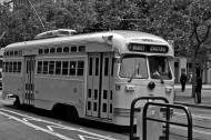 Asisbiz San Francisco Municipal Railway fleet PCC street car fleet cable car no 1063 05