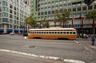 Asisbiz San Francisco Municipal Railway fleet PCC street car fleet cable car no 1075 01
