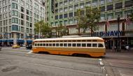 Asisbiz San Francisco Municipal Railway fleet PCC street car fleet cable car no 1075 04
