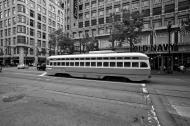 Asisbiz San Francisco Municipal Railway fleet PCC street car fleet cable car no 1075 05