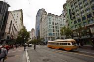 Asisbiz San Francisco Municipal Railway fleet PCC street car fleet cable car no 1075 06