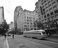 Asisbiz San Francisco Municipal Railway fleet PCC street car fleet cable car no 1075 07