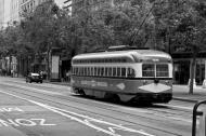 Asisbiz San Francisco Municipal Railway fleet PCC street car fleet cable car no 1078 02