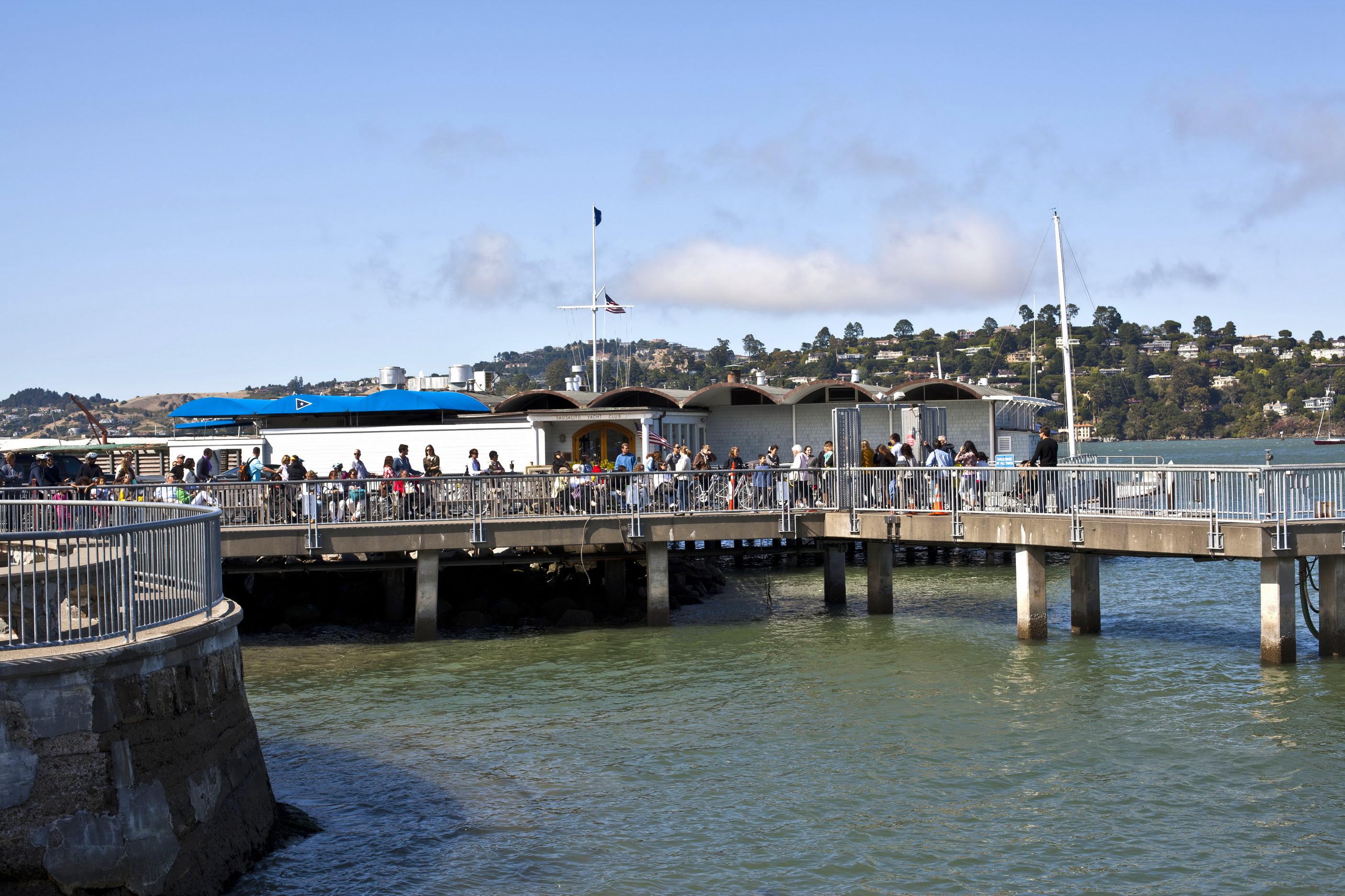Asisbiz Sausalito Jetty Richardson Bay ferry