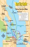 Asisbiz 0 Tourist Map San Francisco Bay Area Ferry System 0A