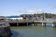 Asisbiz Sausalito Jetty Richardson Bay ferry service embarkation point San Francisco California July 2011 01