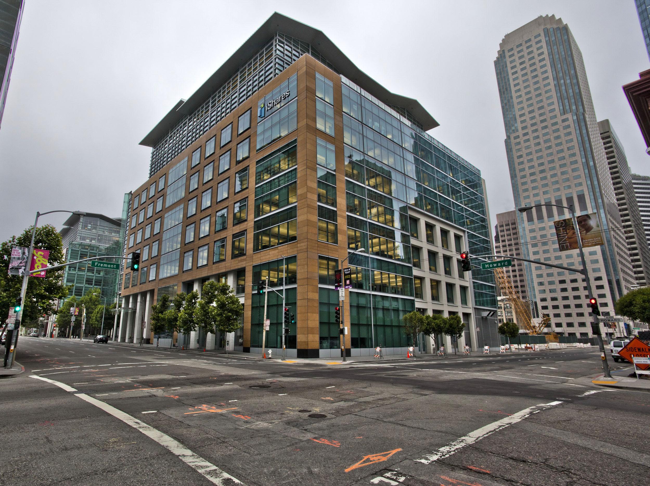 Architecture Blackrock Bldg cnr Howard and Fremont St San Francisco CA July 2011 01