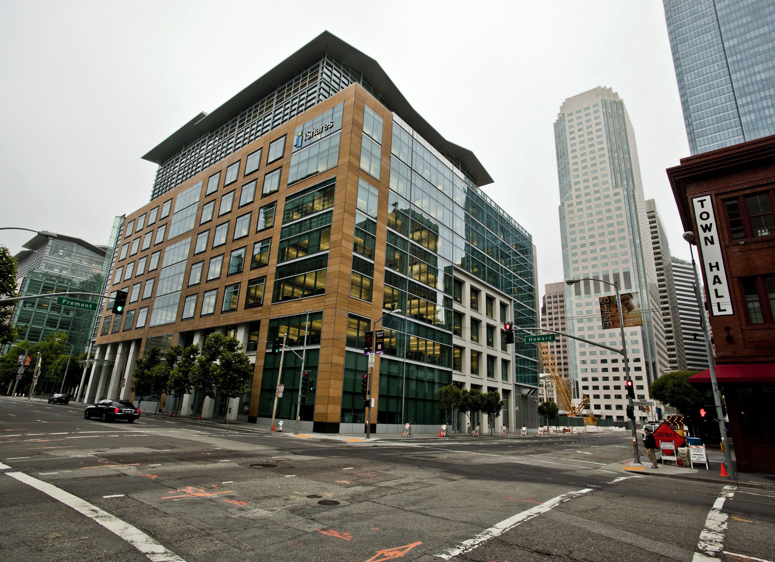 Architecture Blackrock Bldg cnr Howard and Fremont St San Francisco CA July 2011 02
