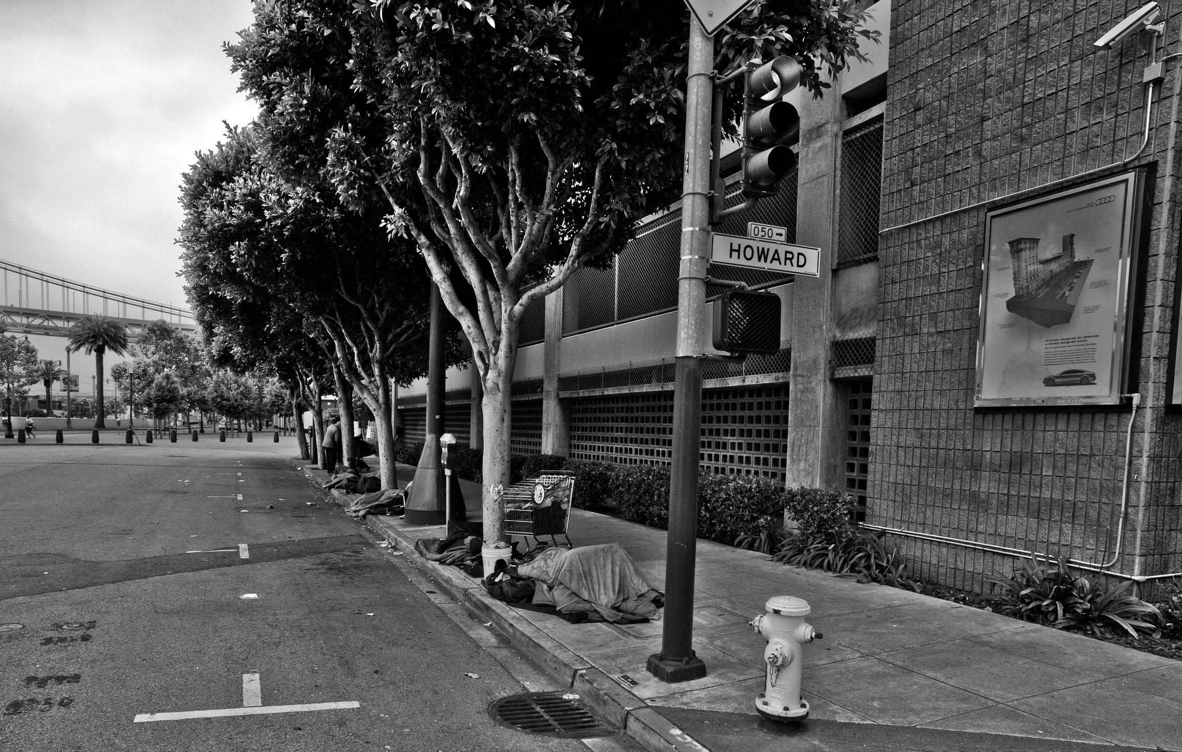 Architecture Harris St homeless San Francisco CA July 2011 02