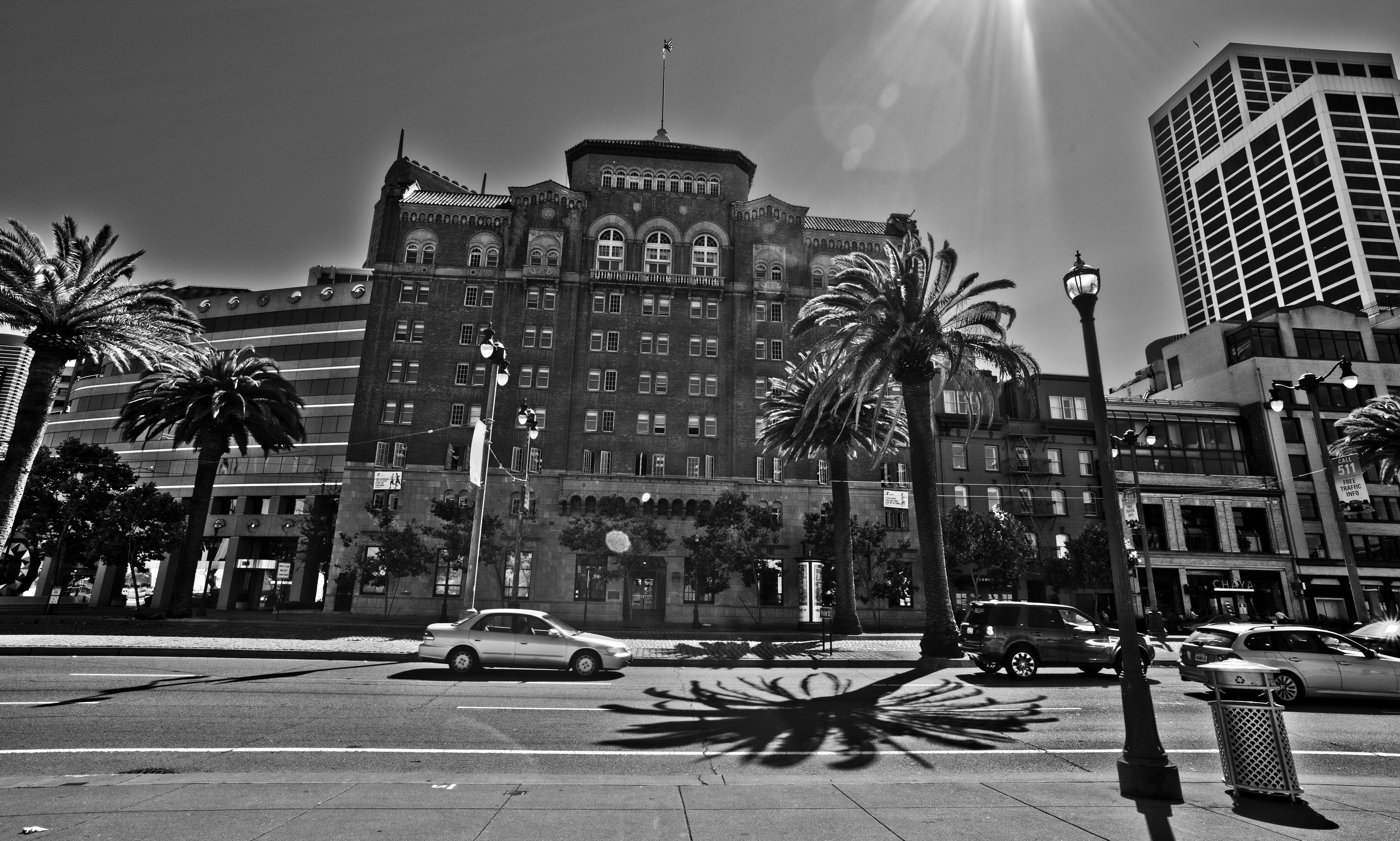 Architecture The Embarcadero St viewed from Pier 17 San Francisco CA July 2011 10