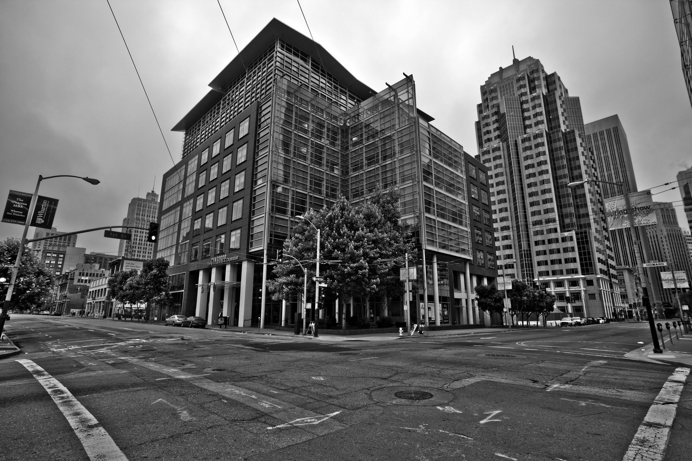 Architecture The Gymboree Corp cnr Howard and 1st St San Francisco CA July 2011 02