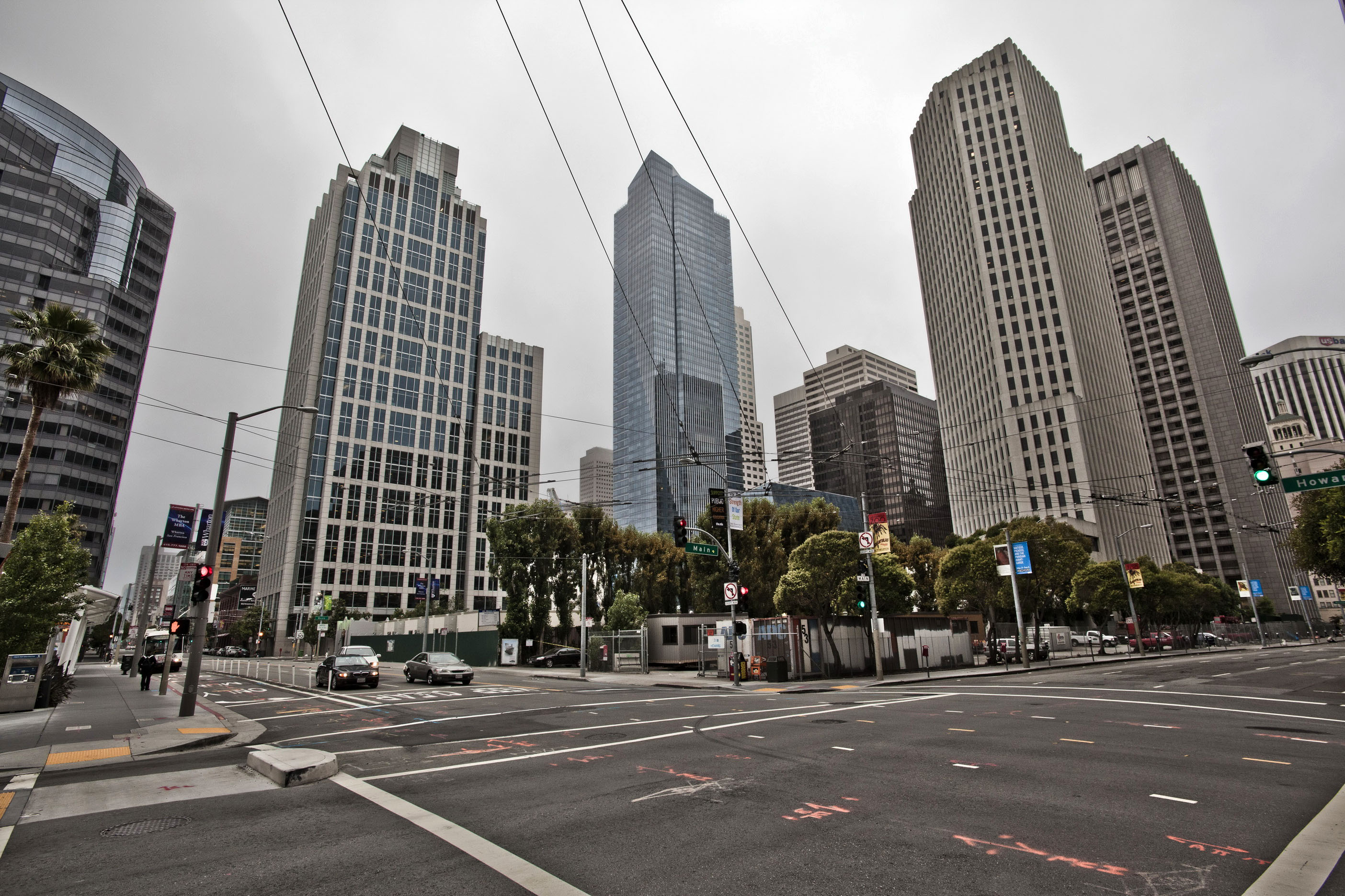 Architecture cnr Howard and Main St San Francisco CA July 2011 02