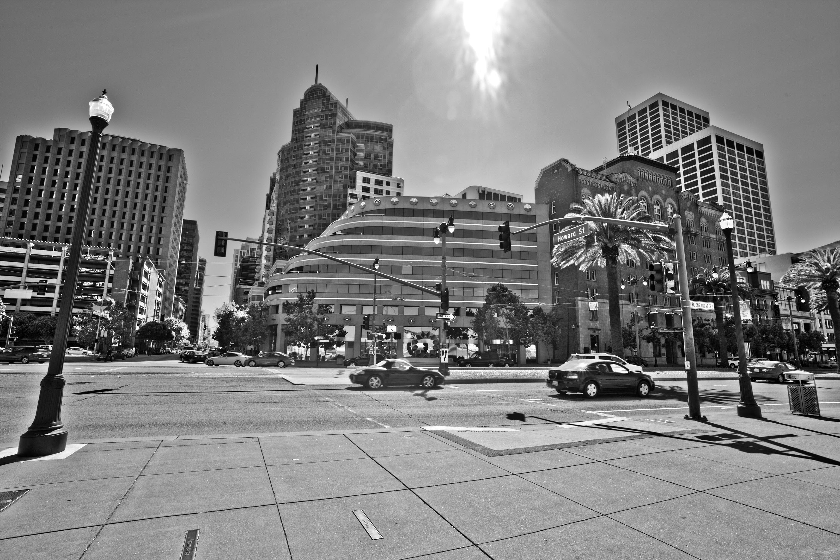 Architecture cnr Howard and The Embarcadero San Francisco CA July 2011 11