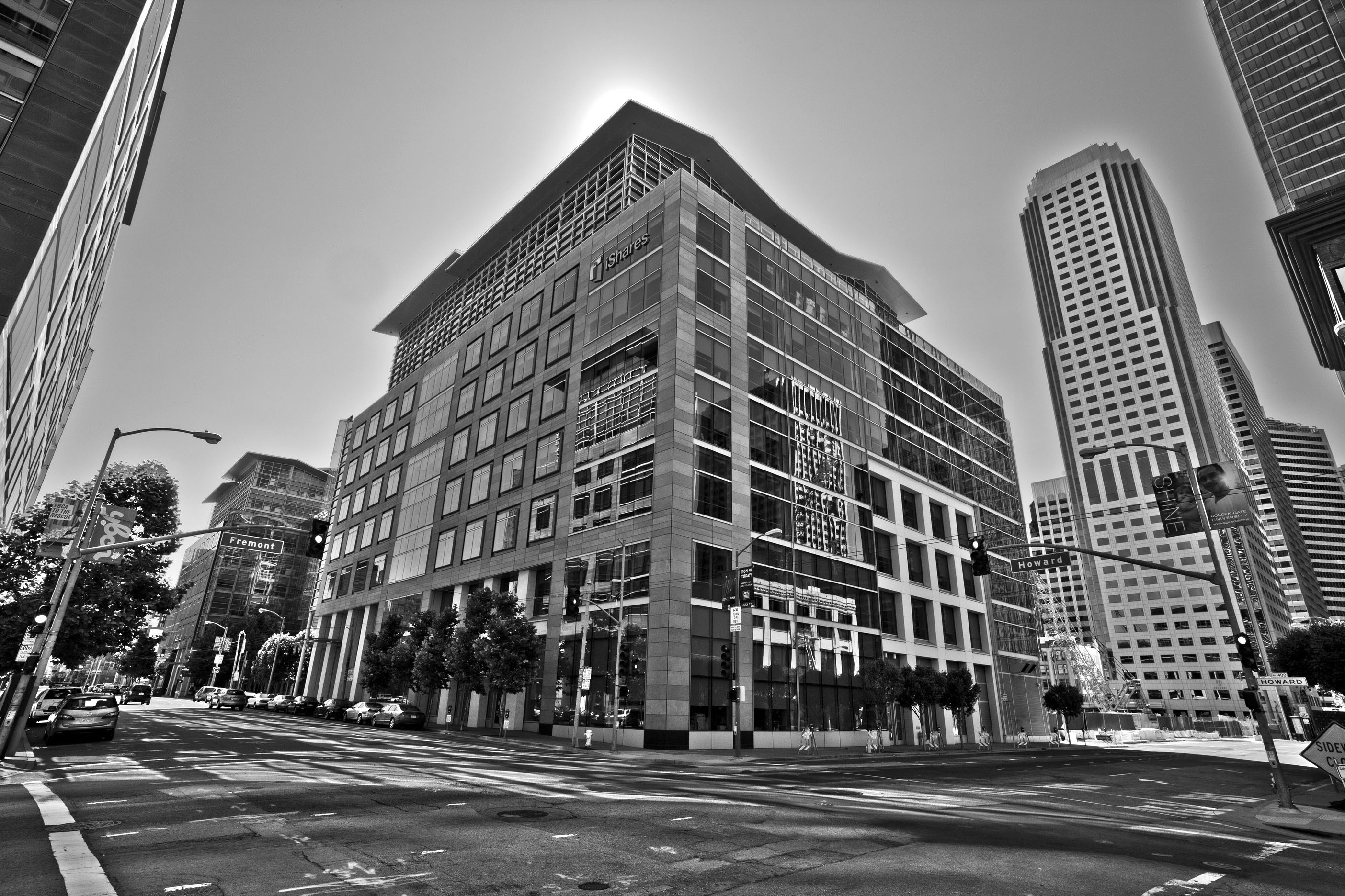 Architecture iStock Bldg cnr Howard and Fremont St San Francisco CA July 2011 04