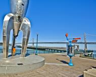 Asisbiz The Embarcadero Rincon Park area Space ship monument CA July 2011 12