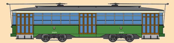 San Francisco Tram No. 1818