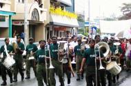 Asisbiz Local amry band Espiritu Santo Vanuatu 02