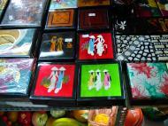 Asisbiz HCMC Ben Thanh Markets Lacquerware stalls Nov 2009 03