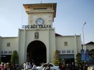 Asisbiz HCMC Ben Thanh Markets main entrance Nov 2009 02