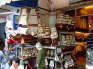 Asisbiz Shops Ho Chi Minh 9 Lam Son Square wooden models Feb 2009 03