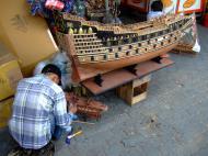 Asisbiz Shops Ho Chi Minh 9 Lam Son Square wooden models Feb 2009 15