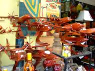 Asisbiz Shops Ho Chi Minh 9 Lam Son Square wooden models Feb 2009 16