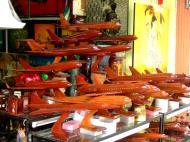 Asisbiz Shops Ho Chi Minh 9 Lam Son Square wooden models Feb 2009 17