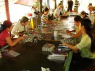 Asisbiz Mekong Delta Saigon River cruise 2nd stage sweet factory Nov 2009 05