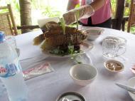 Asisbiz Mekong Delta Saigon River cruise 3rd stage lunch Nov 2009 04