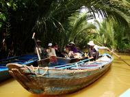 Asisbiz Mekong Delta Saigon River cruise 4th stage canoe Nov 2009 01