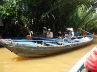 Asisbiz Mekong Delta Saigon River cruise 4th stage canoe Nov 2009 02