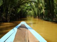 Asisbiz Mekong Delta Saigon River cruise 4th stage canoe Nov 2009 04