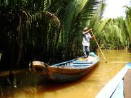 Asisbiz Mekong Delta Saigon River cruise 4th stage canoe Nov 2009 05
