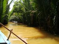Asisbiz Mekong Delta Saigon River cruise 4th stage canoe Nov 2009 06