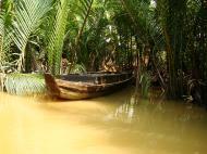 Asisbiz Mekong Delta Saigon River cruise 4th stage canoe Nov 2009 07