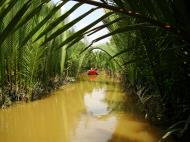 Asisbiz Mekong Delta Saigon River cruise 4th stage canoe Nov 2009 08