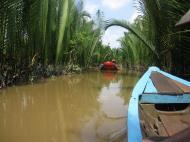 Asisbiz Mekong Delta Saigon River cruise 4th stage canoe Nov 2009 10
