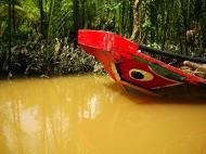 Asisbiz Mekong Delta Saigon River cruise 4th stage canoe Nov 2009 12