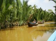 Asisbiz Mekong Delta Saigon River cruise 4th stage canoe Nov 2009 13