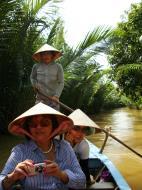 Asisbiz Mekong Delta Saigon River cruise 4th stage canoe Nov 2009 18