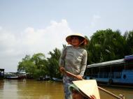 Asisbiz Mekong Delta Saigon River cruise 4th stage canoe Nov 2009 19
