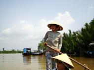 Asisbiz Mekong Delta Saigon River cruise 4th stage canoe Nov 2009 20