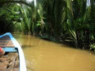 Asisbiz Mekong Delta Saigon River cruise 4th stage canoe Nov 2009 21