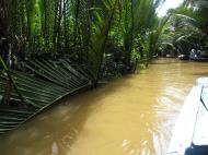 Asisbiz Mekong Delta Saigon River cruise 4th stage canoe Nov 2009 22